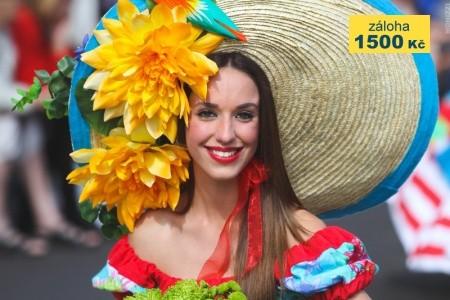 MADEIRA A LISABON - květinové slavnosti Snídaně