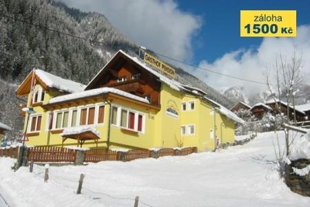 Flattach, Gasthof Innerfraganter Wirt*** - Zima Polopenze
