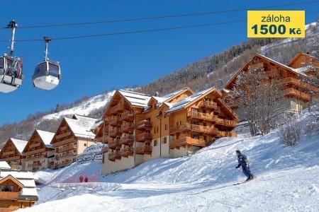 Residence Hameau Et Chalets De La Vallée D´or Bez stravy