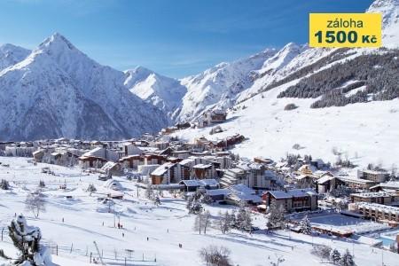 Priv. Apartmány Les 2 Alpes Bez stravy