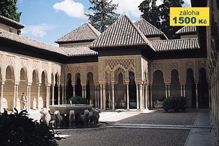 Krásy Andalusie - letecky - Last Minute a dovolená