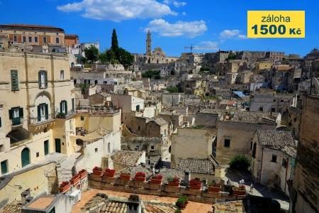 Krásy Apulie a Basilicaty - letecky - Last Minute a dovolená