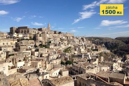 Basilicata A Apulie 55+ Poznávací Zájezd - Last Minute a dovolená