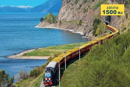 Transsibiřská magistrála a jezero Bajkal - Letecký poznávací zájezd