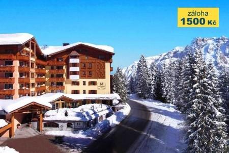 Hotel Carlo Magno Spa Resort ****, Madonna Di Campiglio - lázně