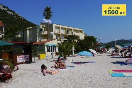 Hotel Plaža A Depandance Hotelu Plaža, Chorvatsko, Jižní Dalmácie