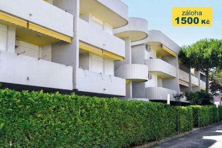 Rezidence Antares - Typ Bilo - autobusem