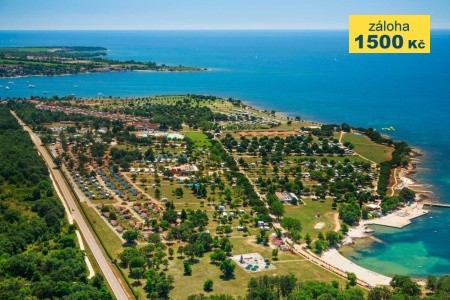 Chorvatsko - Umag / Happy Camp Park Umag