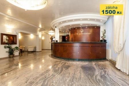 Hotel Ambassador - v červenci