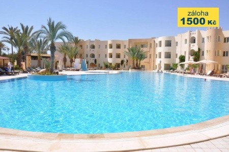 Green Palm Golf And Spa, Tunisko, Djerba