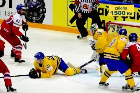 Ms V Hokeji 2018 - Česko - Švédsko Bus