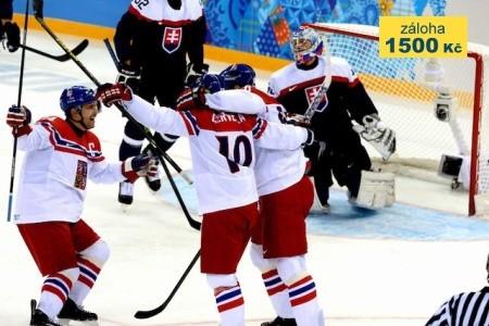 Ms V Hokeji 2018 - Česko - Slovensko & Švédsko & Švýcarsko