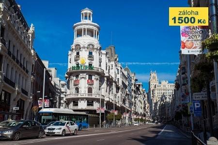 To nejlepší z Madridu + TOLEDO (letecky z Prahy) - poznávací zájezdy