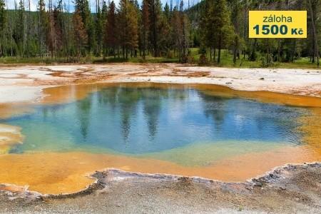 Přes Yellowstone do Seattlu