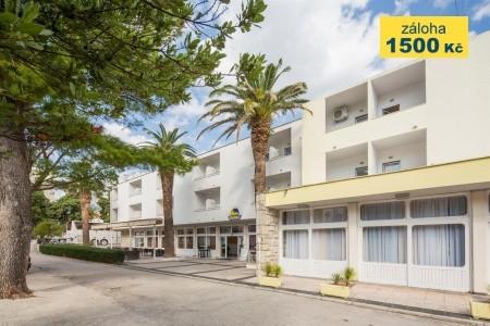 First Minute Hotel Palma***, Klimatizace, Dítě Do 11.9 Let Na 3.lůžku Zdarma, Chorvatsko, Makarská riviéra