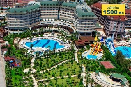 Saphir Resort & Spa 50+, Turecko, Alanya