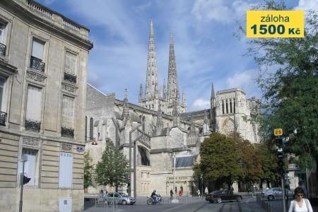 Bordeaux a Akvitánie letecky - Last Minute a dovolená