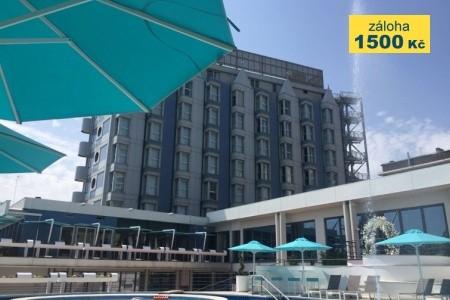 Resort Airone S Bazénem Pig- Sottomarina Lido - v srpnu