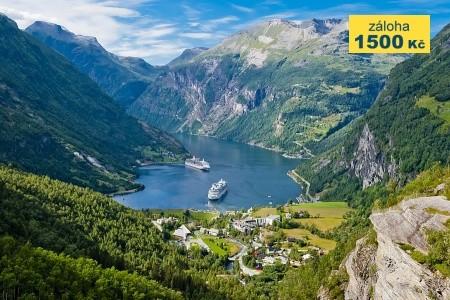 To nejlepší ze západního Norska + OSLO (letecky z  - letní dovolená