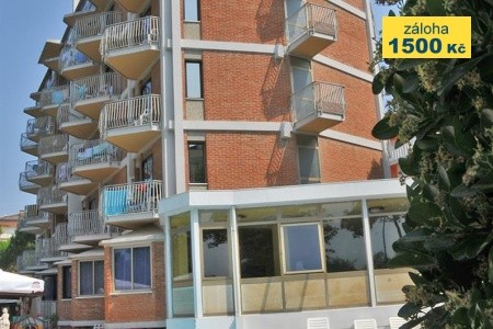 Hotel La Fenice E Siesta S Bazénem Pig– Lido Di Jesolo - v červenci