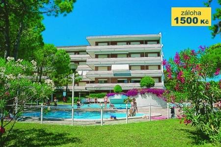 Residence Meridiana S Bazénem - Last Minute a dovolená