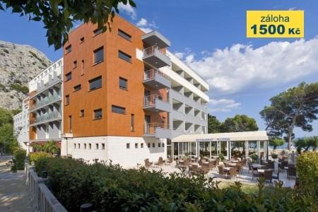 Hotel Plaža Omiš - na pláži