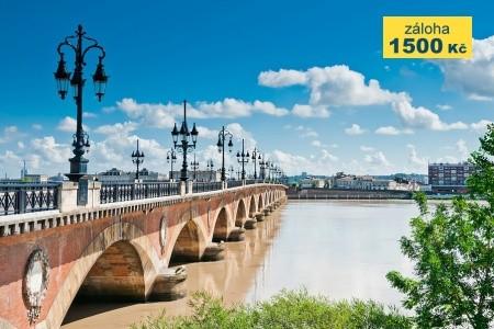 To nejlepší z Bordeaux + NEJVĚTŠÍ PÍSEČNÁ DUNA EVROPY (letec - poznávací zájezdy