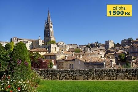 To nejlepší z Bordeaux + ST-ÉMILION (letecky z Prahy) - Last Minute a dovolená