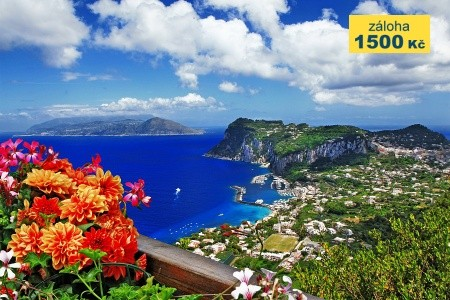 To Nejlepší Z Neapole + Pompeje + Ischia + Capri (Letecky Z  - Last Minute a dovolená