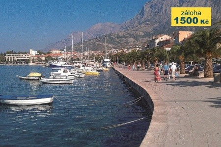 Hotel Rivijera Sunny Resort, Chorvatsko, Makarska