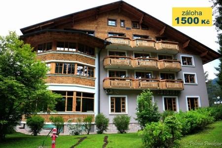 Hotel Ribno - v srpnu