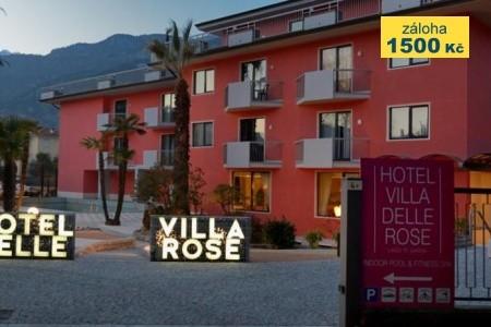 Villa Delle Rose - v červenci