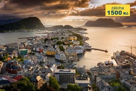 To nejlepší ze západního Norska + BERGEN + OSLO (l - Last Minute a dovolená