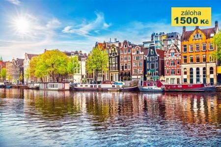 Amsterdam s návštěvou Zaanse Schans (LETECKY) Snídaně