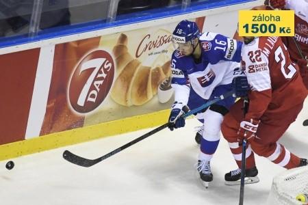 Ms V Hokeji 2020: Slovensko - Dánsko & Slovensko - Veľká Británia