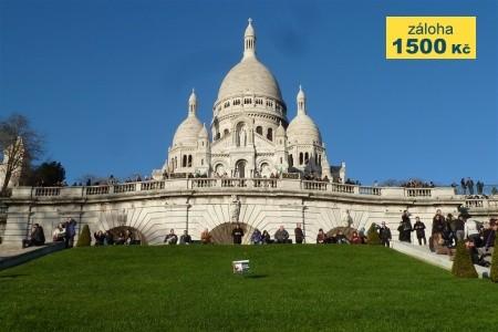 Paříž a zámky na Loiře autokarem - poznávací zájezdy
