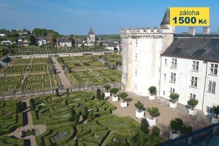 Turistické lahůdky Francie - zámky na Loiře, Bretaň, Normand - poznávací zájezdy