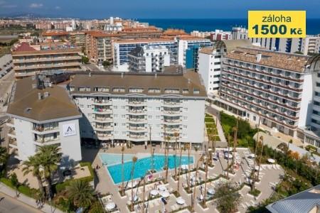 Montagut Aqua-Hotel - letní dovolená u moře