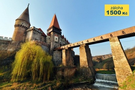 Rumunsko - Transylvánie, sídla Drakuly i Ceausesca Bez stravy