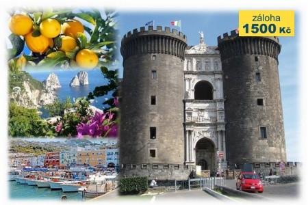 Neapolský záliv letecky - Last Minute a dovolená