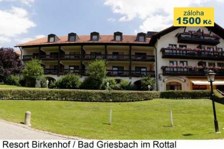 Hotel Resort Birkenhof ***sup. - v červenci