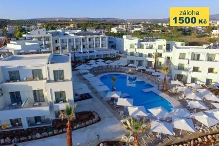 Hotel Bomo Rethymno Beach - na pláži