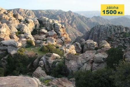 Trek v Jordánsku - v září