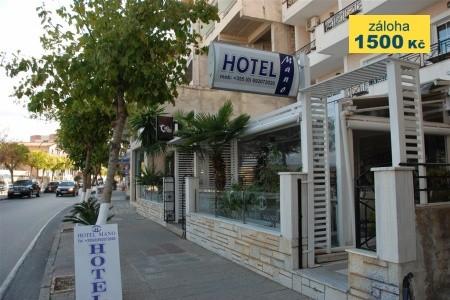 Hotel Mano - snídaně