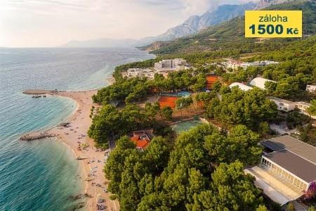 Hotel Valamar Rivijera, Chorvatsko, Makarska