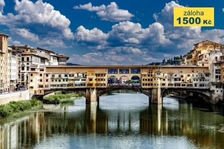 Florencie a Řím s Vatikánem - v červenci