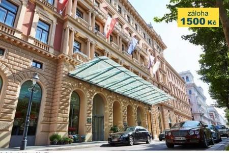 Hotel Palais Hansen Kempinski Vienna *****sup. - v červenci