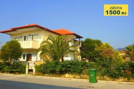 Vila Christos (Chalkidiki, Nea Vrasna) - Bus - ubytování v soukromí