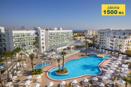 Tsokkos Protaras Beach - luxusní dovolená