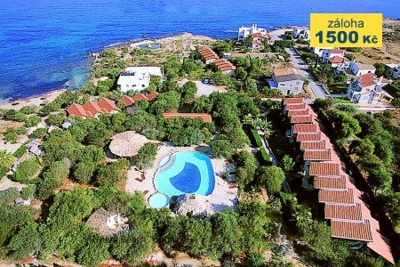 Riviera Beach Bungalows Hotel - podzimní dovolená
